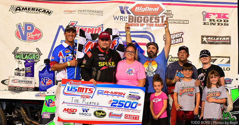 'The Reaper' prevails in post-pandemic USMTS Park City Sunflower State Showdown