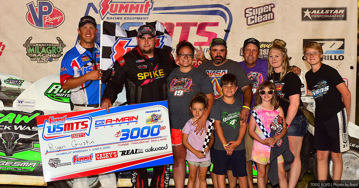 Gustin hustles for USMTS honors at Humboldt