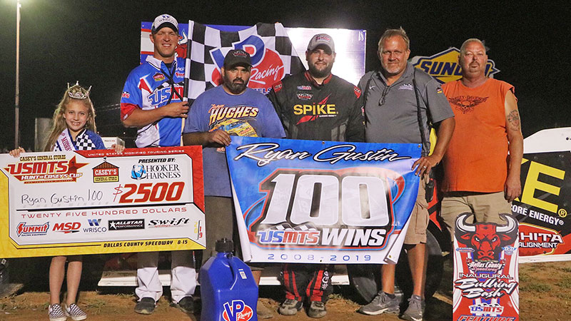 Gustin garners 100th USMTS victory in maiden voyage to Dallas County Speedway