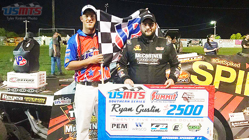 Gustin finds his groove in Greenville